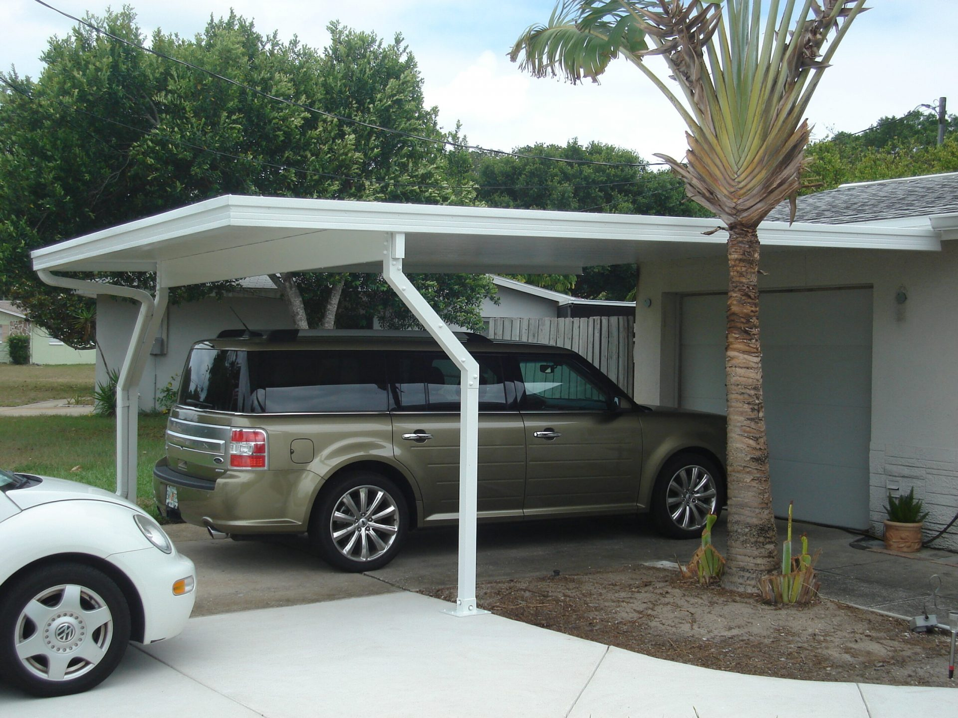 Home Depot Carport Screen : Carport canopies pyramid aluminum